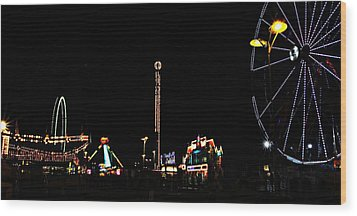 The Carnival Wood Print by Jp Grace
