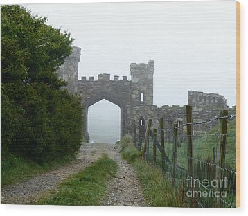 The Castle Gate Wood Print by Butch Lombardi