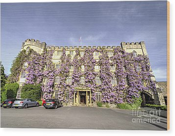 The Castle Hotel  Wood Print by Rob Hawkins