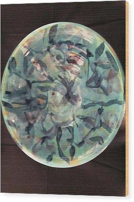 The Ceramic Bowl Wood Print by Martha Nelson