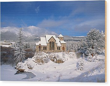 The Chapel On The Rock 3 Wood Print by Eric Glaser