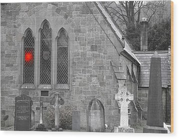 Wood Print featuring the photograph The Church 2 by Christopher Rowlands