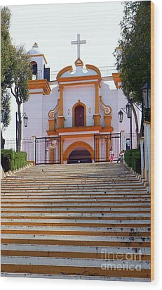 The Church Of Guadalupe 1 Wood Print