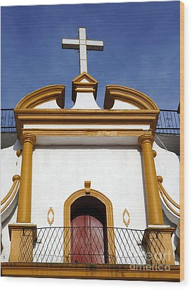 The Church Of Guadalupe 3 Wood Print