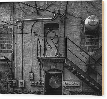 The City Is A Poem  Wood Print by Bob Orsillo