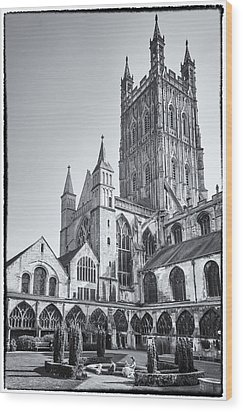 The Cloisters Wood Print by Stewart Scott