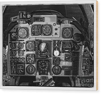 The Cockpit Wood Print by Edward Fielding