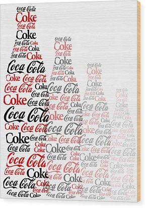 The Coke Project Wood Print
