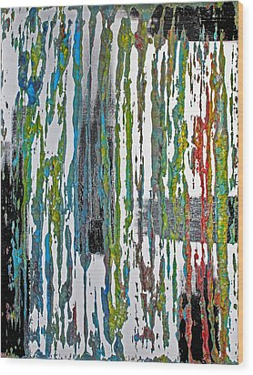 The Color Of Rain II Wood Print by James Mancini Heath
