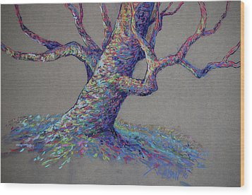 The Colors Of Life Wood Print