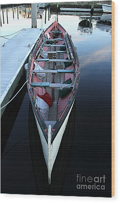 The Cornish Gig 1 Wood Print by Butch Lombardi