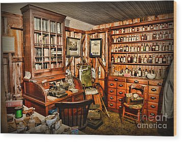 The Country Doctor Wood Print by Paul Ward