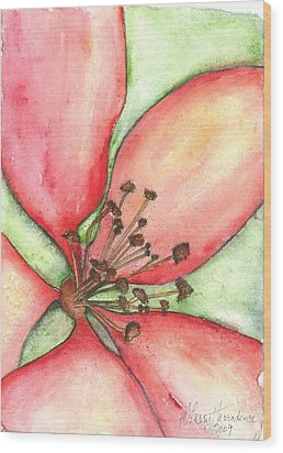 The Crowd Pleaser 1 Wood Print by Sherry Harradence