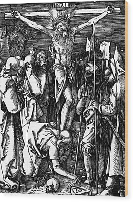 The Crucifixion Wood Print by Albrecht Durer