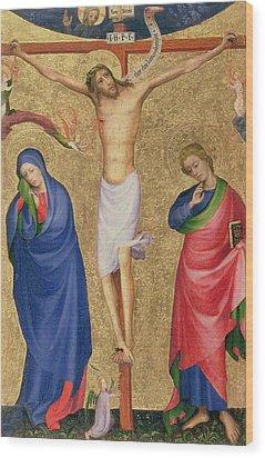 The Crucifixion Wood Print by Dutch School
