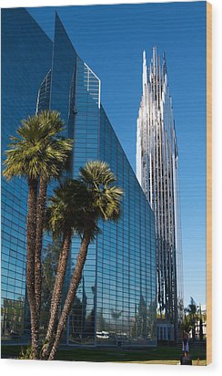 The Crystal Cathedral  Wood Print by Duncan Selby