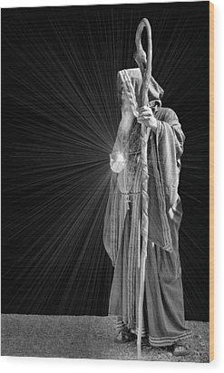 The Crystal Wood Print by Kristin Elmquist