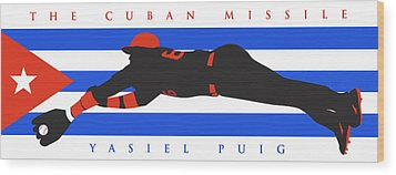 The Cuban Missile Wood Print by Ron Regalado