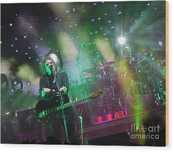 The Cure Wood Print