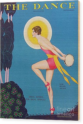 The Dance  1929 1920s Usa Ruby Keeler Wood Print by The Advertising Archives