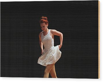 The Dance Wood Print by Carolyn Ricks