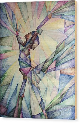 The Dancer Wood Print by Jennifer Apffel