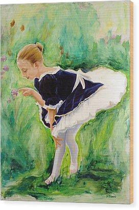 The Dancer Wood Print by Sheila Diemert
