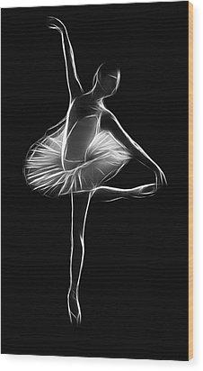 The Dancer Wood Print by Steve K