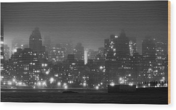 The Dark And Stormy Night Wood Print by JC Findley