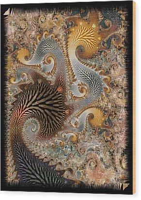 The Delta Wood Print by Kim Redd