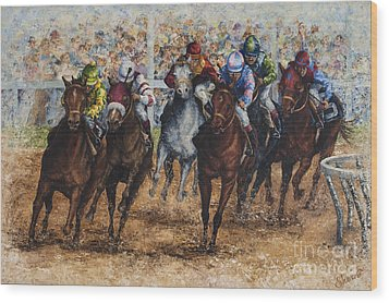 The Derby Wood Print