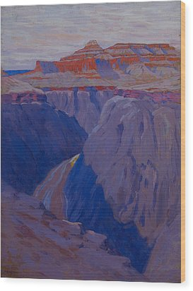 The Destroyer Wood Print by Arthur Wesley Dow