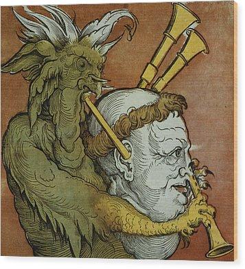 The Devil Wood Print by Eduard Schoen