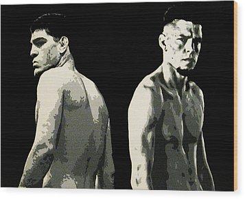 The Diaz Bros Wood Print