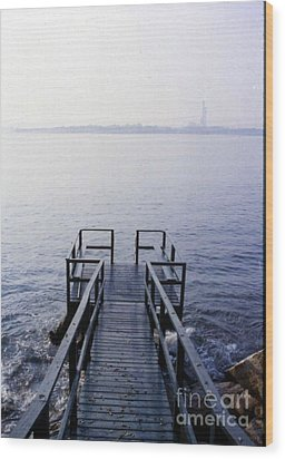 The Dock In The Bay Wood Print