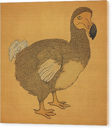 The Dodo Wood Print