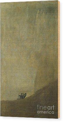 The Dog Wood Print by Goya