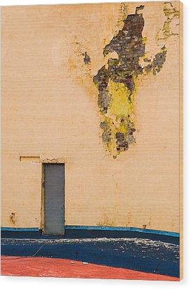 The Door - Featured 2 Wood Print by Alexander Senin