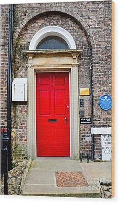 The Door To James Herriot's World Wood Print