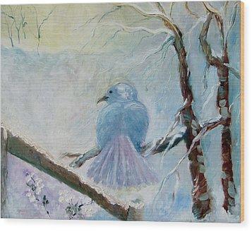 The Dove Wood Print by Susan Hanlon
