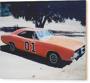 The Dukes Of Hazzard  Wood Print by Silver Screen