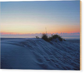 The Dunes Wood Print by JC Findley