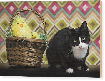 The Easter Tiggy Wood Print
