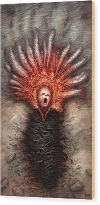 The Ecstasy Aquatic Wood Print by Ethan Harris
