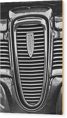 The Edsel Grill Wood Print by Paul Mashburn