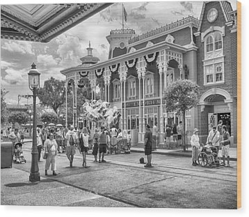 Wood Print featuring the photograph The Emporium by Howard Salmon