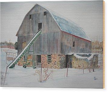 The Enchanted Barn Wood Print