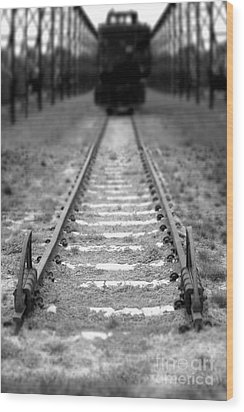 The End Of The Line Wood Print by Olivier Le Queinec