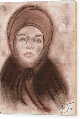 The Endurance Of Marta Wood Print