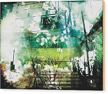 Wood Print featuring the photograph The Entanglement 6 by The Art of Marsha Charlebois